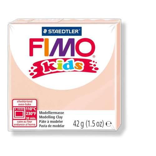 Fimo kids boetseerklei 42g huidskleur