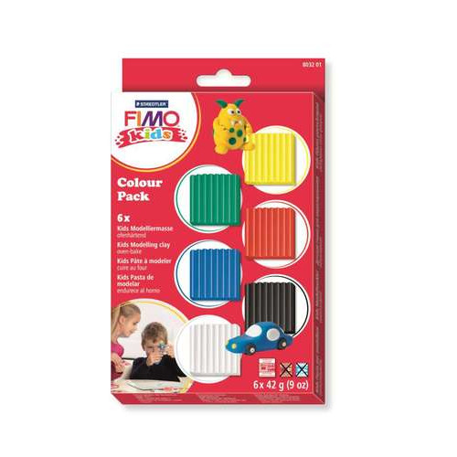 Fimo kids Colour pack basic (6 x 42g)