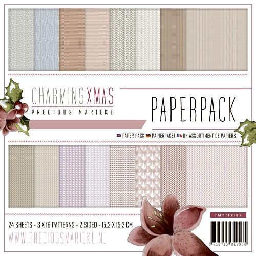 Paperpack - Precious Marieke - Charming Xmas