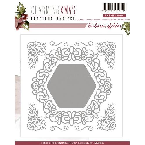 Embossing Folder - Precious Marieke - Charming Xmas