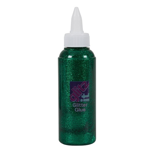 Glitter Glue 120ml - Evergreen