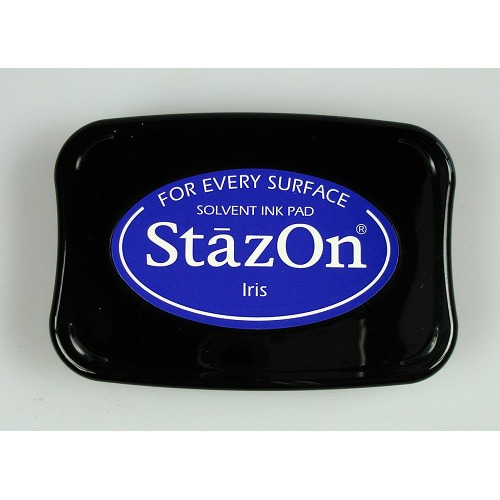 Stazon Ink pad iris