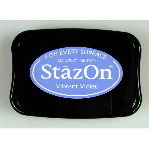 Stazon Ink pad vibrant violet