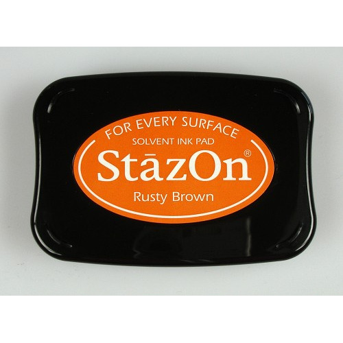 Stazon Ink pad rusty brown