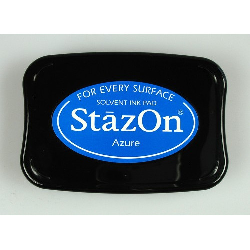Stazon Ink pad azure