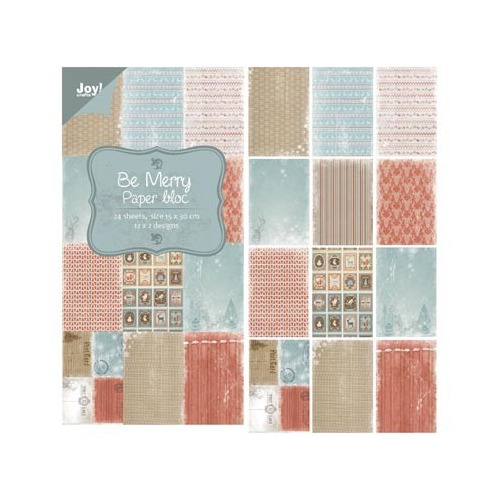 Joy! crafts - Paperpack - Be Merry