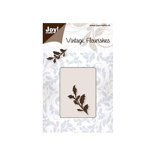 Joy! crafts - Die - Cutting - Vintage Flourishes Holly