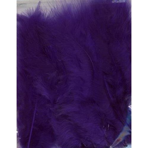 1 ST (1ST) Marabou veren paars 15 ST