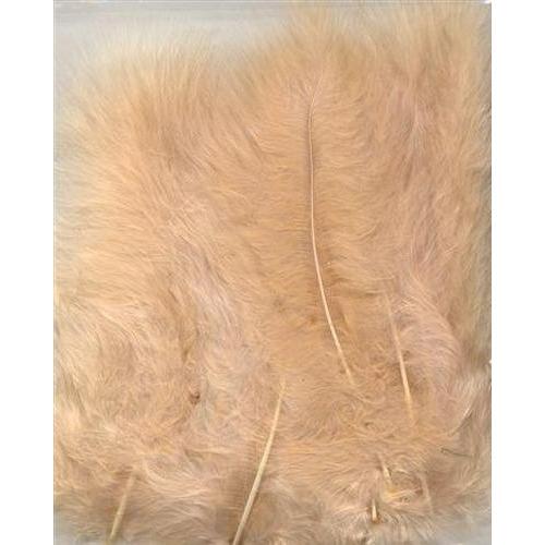 1 ST (1ST) Marabou veren beige 15 ST