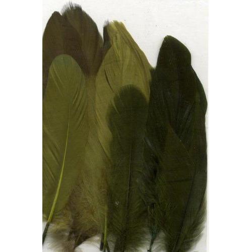 1 ST (1ST) Veren groen mix 12,5-17,5 cm 15 ST