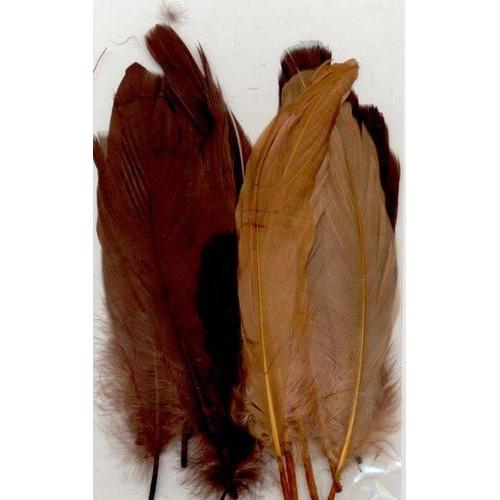 1 ST (1ST) Veren bruin mix 12,5-17,5 cm 15 ST