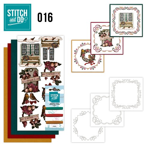 Stitch and Do 16 - Brocante kerst