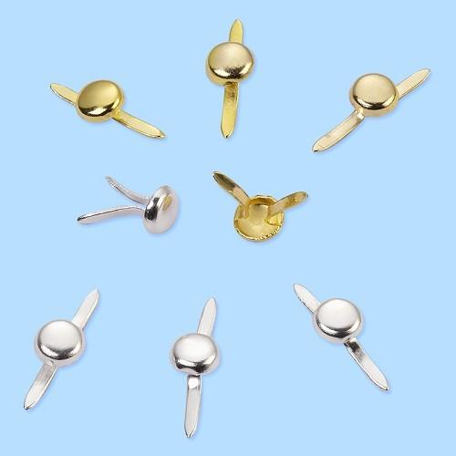 CREApop® Mini Decoclip, 4 mm, buidel met 20 st, zilver