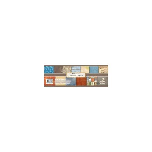 ScrapBerry`s Paper Set 12x12 Inch Antique Shop