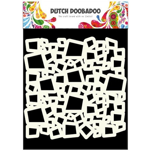 Dutch Doobadoo Dutch Mask Art stencil blokken A5 470.715.503 (new 07-15)