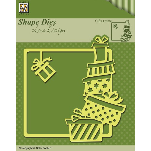 Shape Dies Christmas Gifts frame