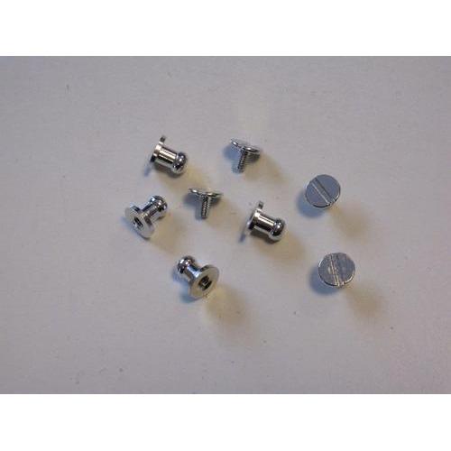Knop sluiting platinum 8x5 mm 4 ST 12313-1320