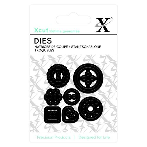 Mini Die - (7pcs) Buttons