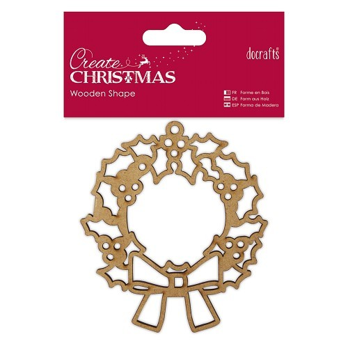 Wooden Shape - Wreath