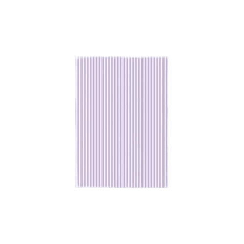 RBC015 Basic Collection A4  Lightpurple Stripes