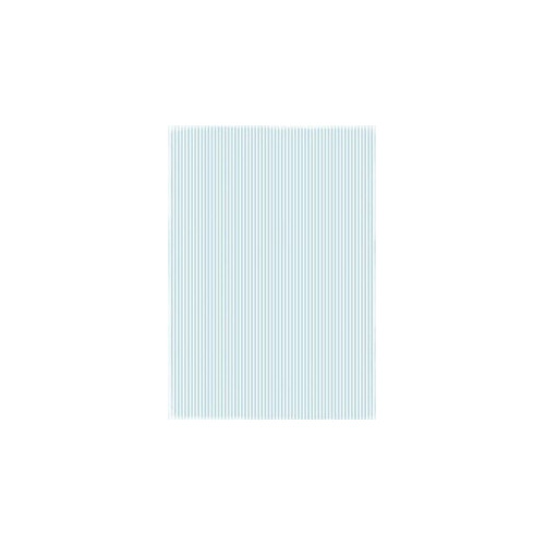 RBC019 Basic Collection A4  Lightblue Stripes