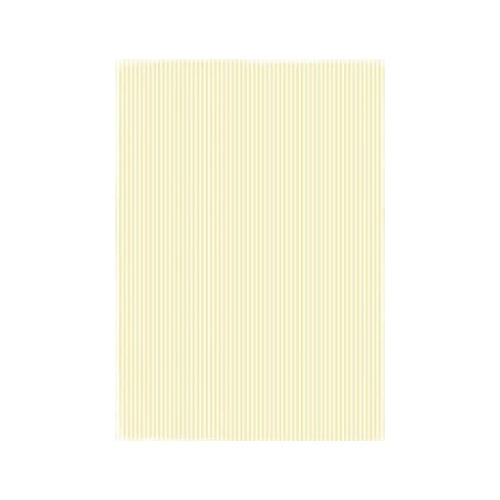 RBC027 Basic Collection A4  Yellow Stripes