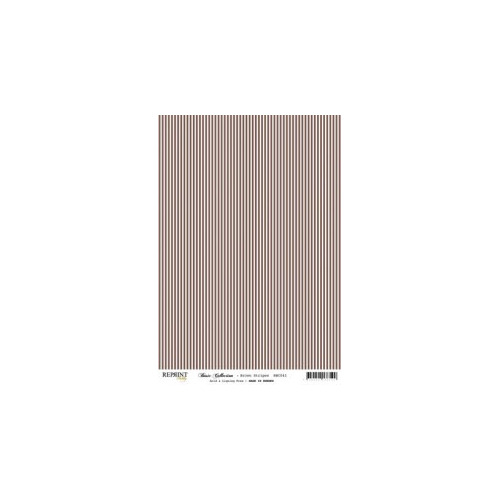 RBC041 Basic Collection A4Brown Stripes
