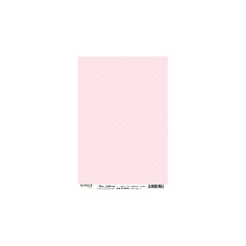RBC049 Basic Collection A4  Light Pink Mini Dots