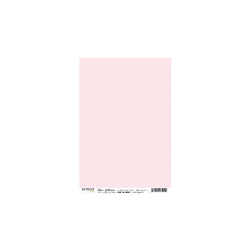 RBC050 Basic Collection A4  Light Pink Medaillons