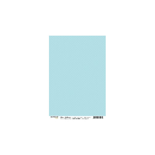 RBC053 Basic Collection A4  Light Blue Mini Dots