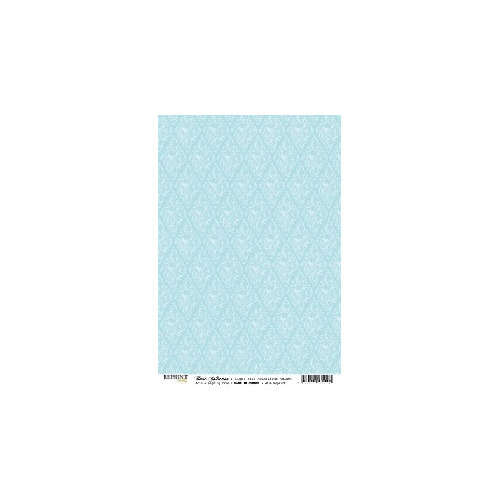 RBC054 Basic Collection A4 Light Blue Medaillons