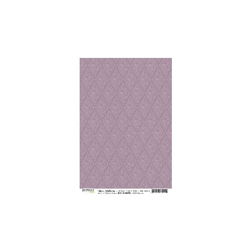 RBC059 Basic Collection A4  Vintage Purple Medaillons