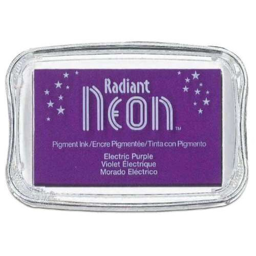 Radiant Neon inktkussen Electric purple 1 ST NR-000-75