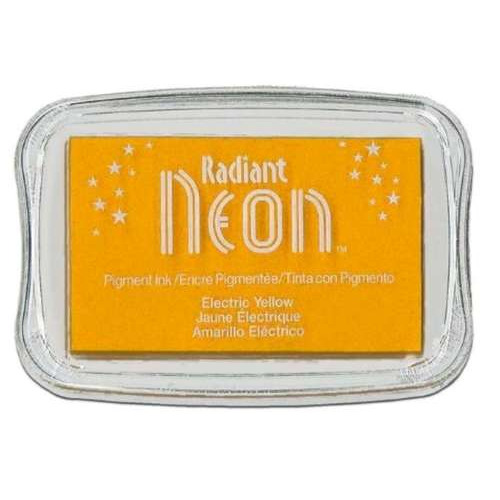 Radiant Neon inktkussen Electric yellow 1 ST NR-000-71