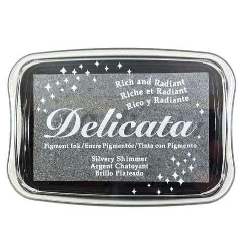 Delicata inktkussen Metallic Silvery shimmer 1 ST DE-000-192