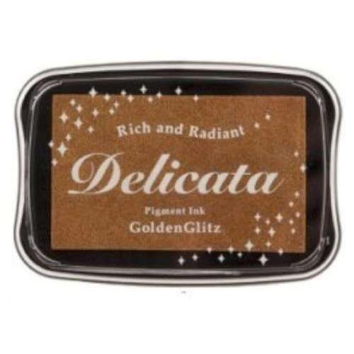 Delicata inktkussen Metallic Golden Glitz 1 ST DE-000-191