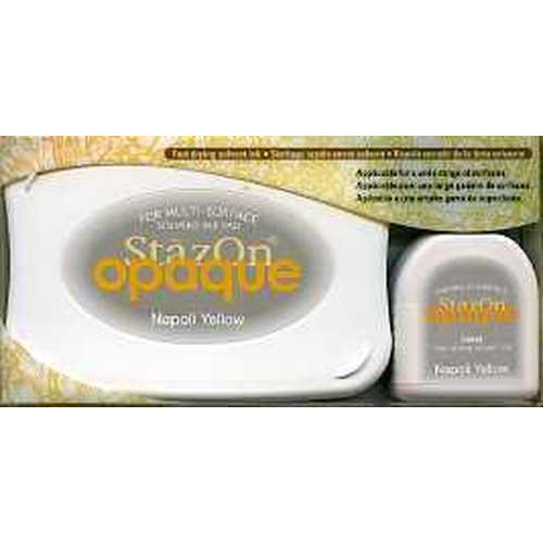 Stazon inktkussen set opaque Napoli Yellow 1 PK SZ-000-111