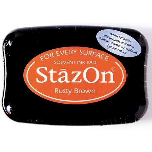 Stazon inktkussen Rusty brown 1 ST SZ-000-042