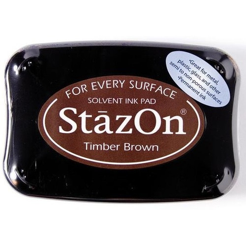 Stazon inktkussen Timber brown 1 ST SZ-000-041