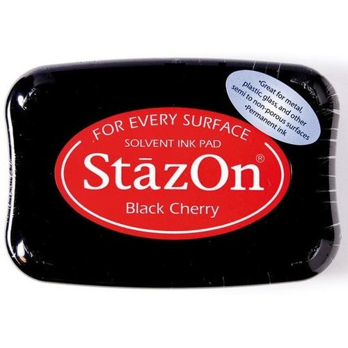 Stazon inktkussen black Cherry 1 ST SZ-000-022