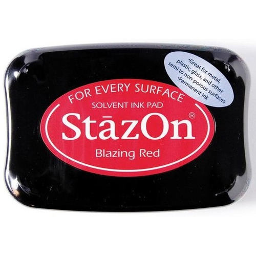 Stazon inktkussen Blazing red 1 ST SZ-000-021
