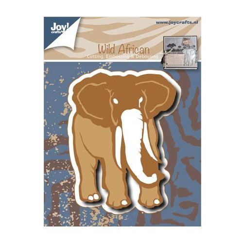 6002/0477 Snij-Em- en Debossing stencil Olifant