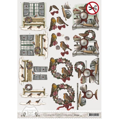 3D Pushout - Amy Design - Brocante Christmas