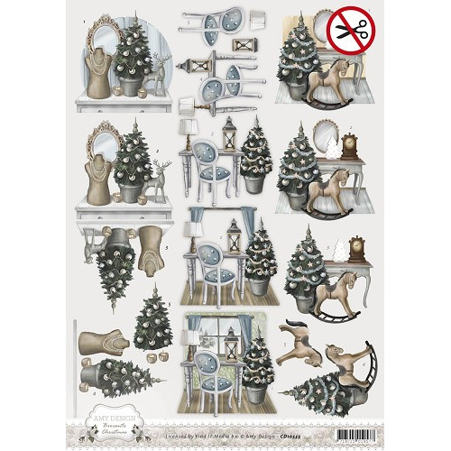 3D Pushout - Amy Design - Brocante Christmas