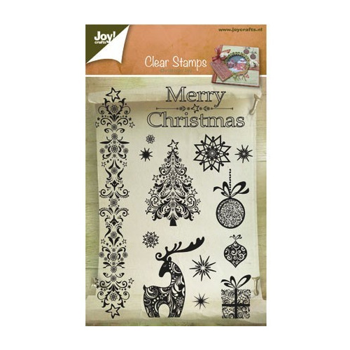 Joy! crafts - Clearstamp - Merry Christmas