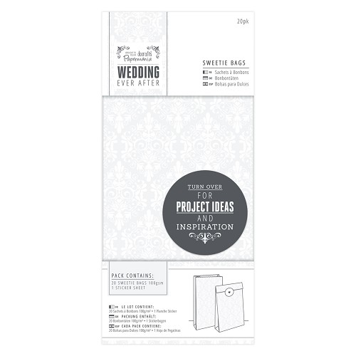 Sweetie Bags (20pk) - Wedding - Damask