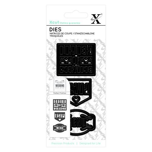 Small Dies (3pcs) - RSVP
