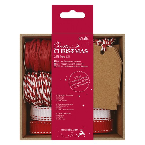 Gift Tag Kit - Red