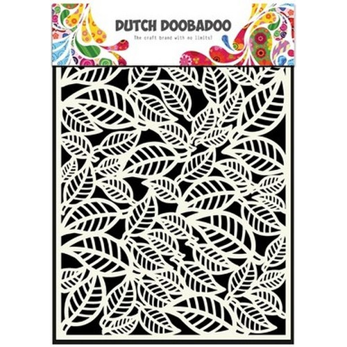 Dutch Doobadoo Dutch Mask Art stencil bladeren  A5 470.715.042 (new 08-2015)