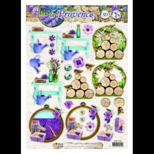 Studio Light Easy 3D Stansvel A4 La Provence nr 482 EASYSLP482 (new 08-15)